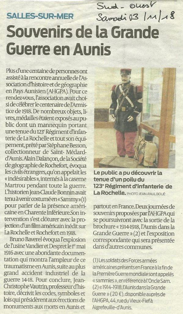 2018-11-03 Sud Ouest