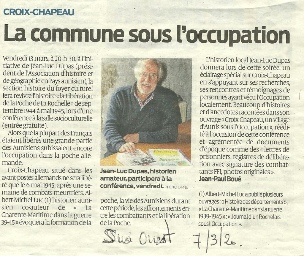 2020-03-07 Sud Ouest